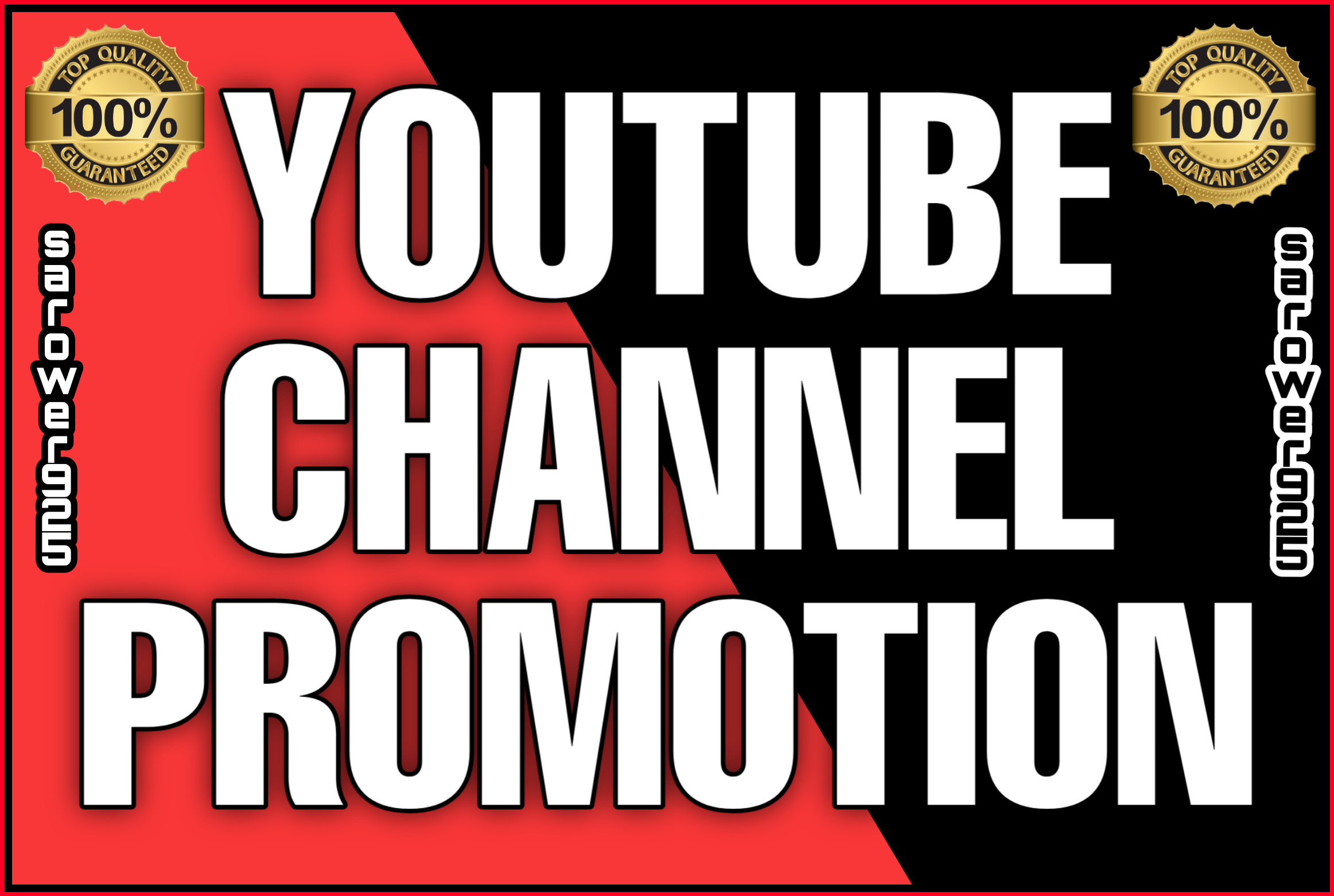 Youtube real promotions via real users
