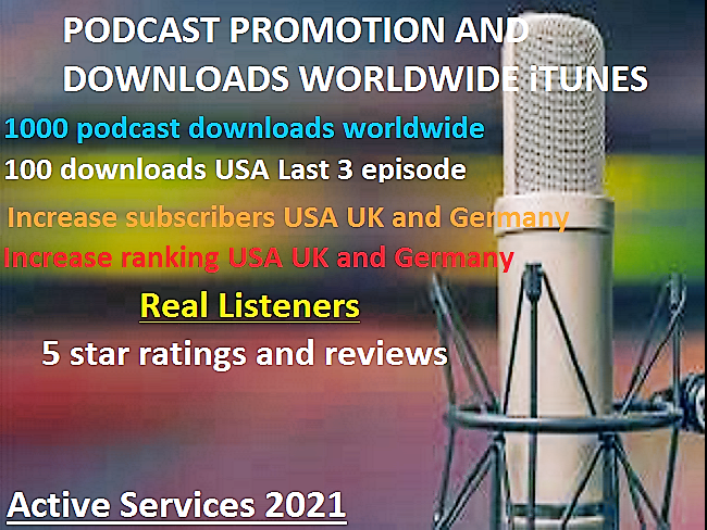do promotion your podcast increase downloads and marketing to real audience