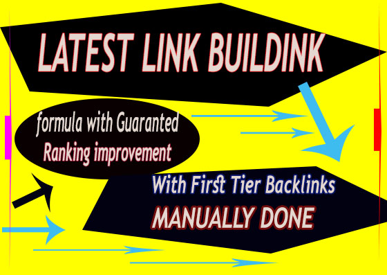 Latest And Manually Done 2019 Back-links Package To Improve Your Ranking Toward Page