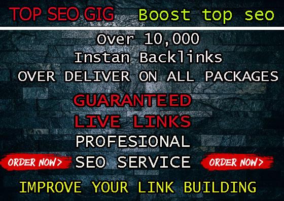 provide over 15,000 high quality live SEO backlinks