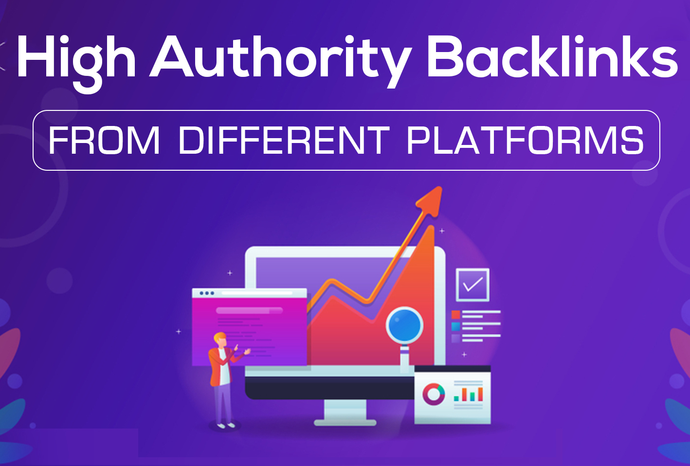 Rank you high with Manual and Mix seo strategy backlinks