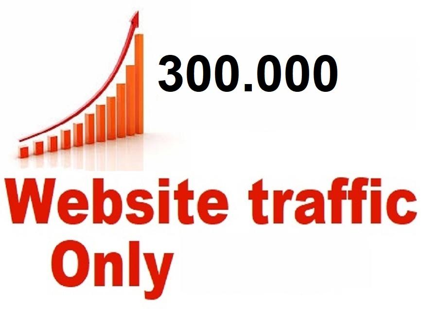 Real Web Traffic 300,000 Worldwide Traffic Website