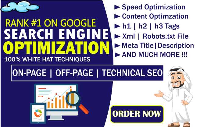 I will fixed your On-Page SEO Errors and Technical Onpage SEO Errors