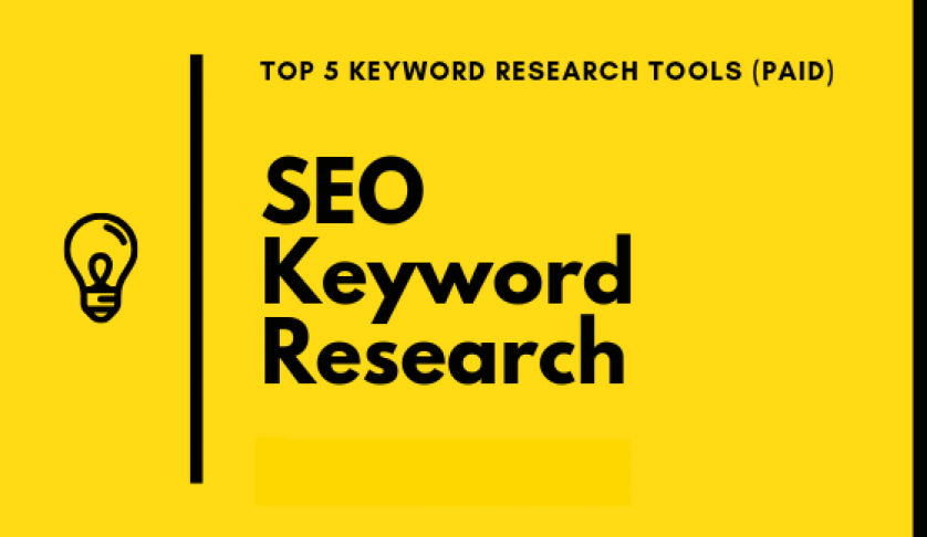 I will do high search volume with Lw Competition keyword research which actually ranks you on google