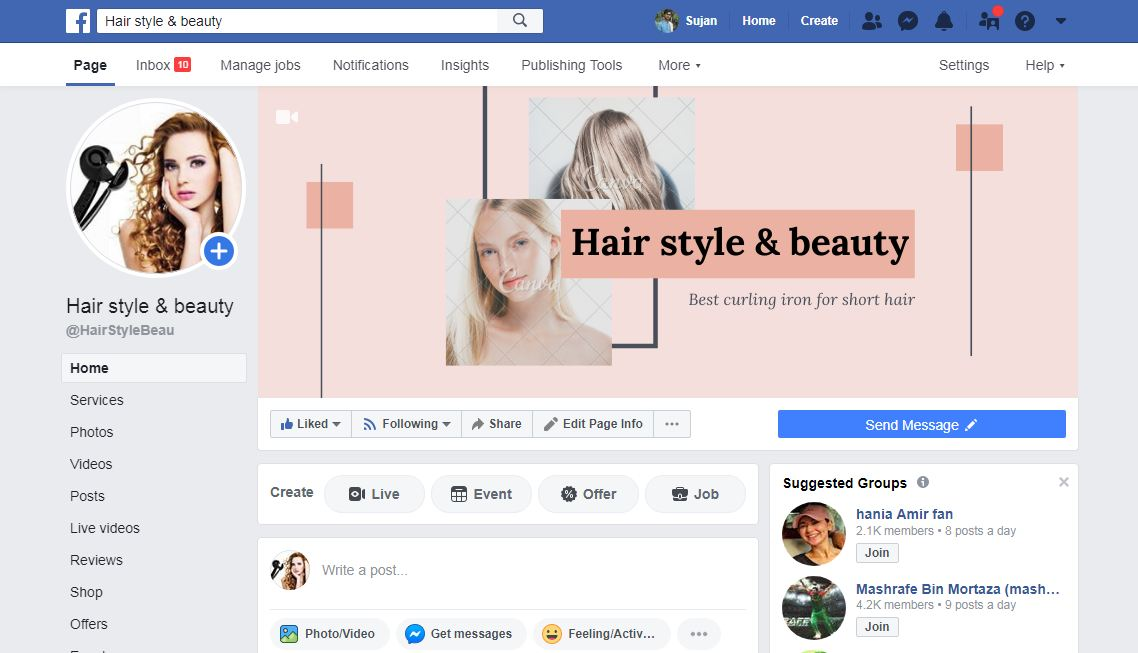 I Will Guaranteed Professional Facebook Business Page