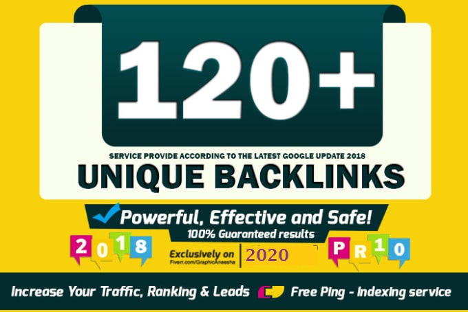 I will do 120 unique pr10 SEO backlinks for skyrocket your google ranking