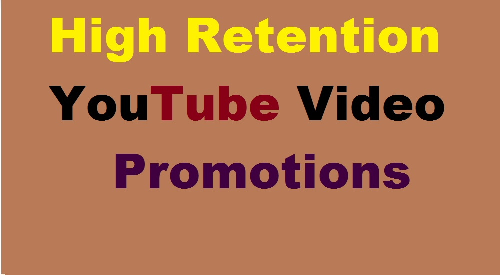 High Retention YouTube Video Marketing and Promoting with Visitors just