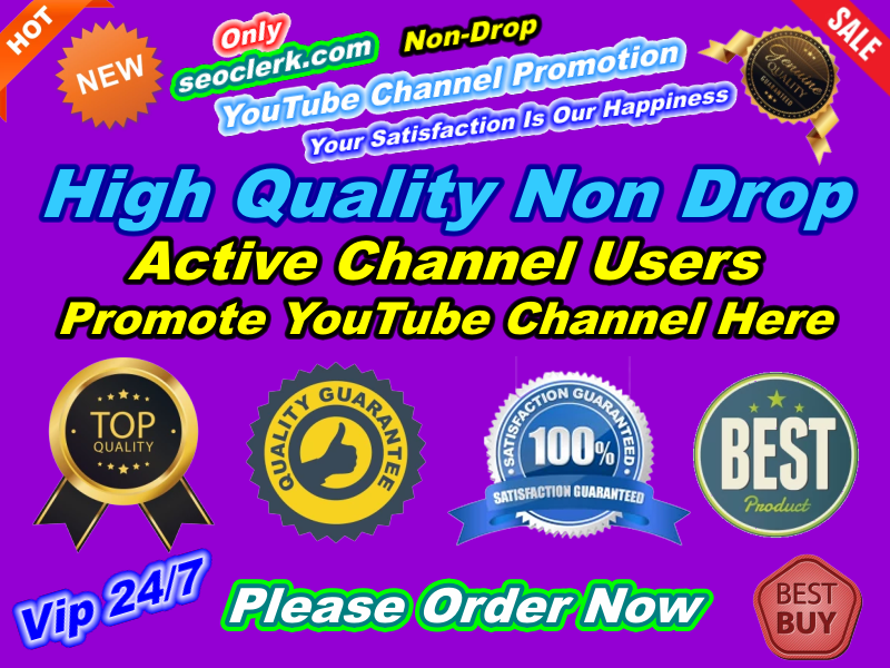 Outstanding Real Permanent YouTube Sub Promotion Manually