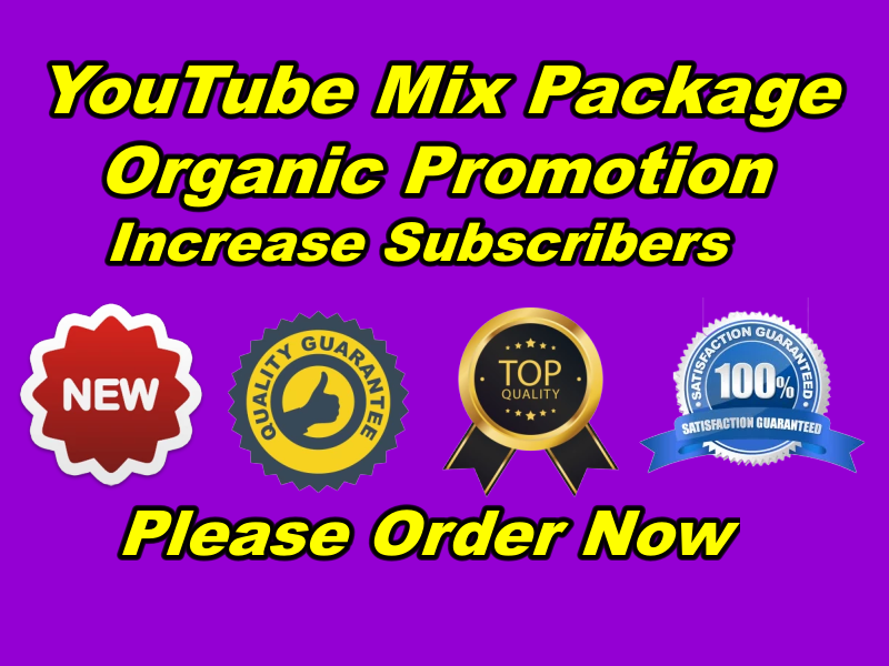 Exclusive Natural Hot new 2019 YouTube Promotion Deal
