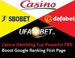HQ Powerful Backlinks from UFABET Related Esports/Poker/Casino/Gambling/slotxo/Betting Guarantee