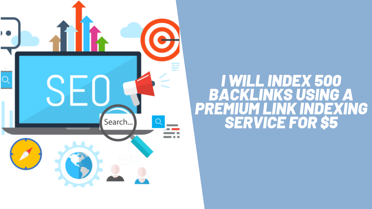 500 URLS Submitted to Premium Indexer - 1 or 7 day