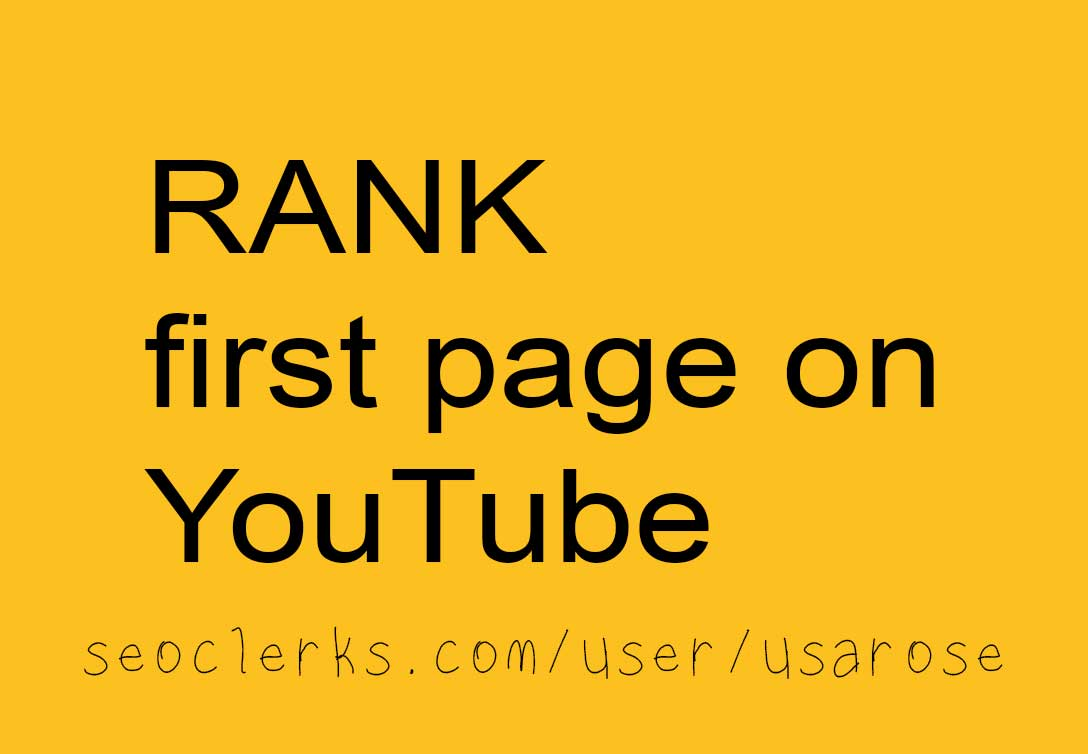 YouTube SEO,  Rank Your Video On YouTube,  Top Search Results
