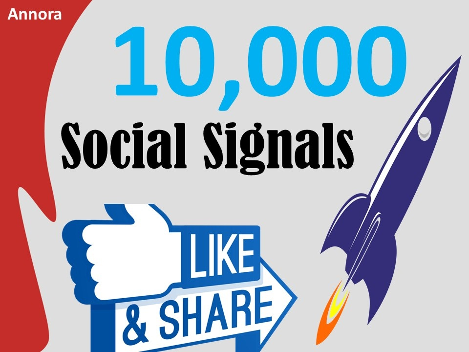 Add facebook 10,000+ SEO Social Signals Backlink/Bookmark/Important Site Google ranking