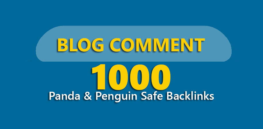 Build Panda & Panguin Safe 1000 HQ Dofollow Blog Comments Seo Backlinks