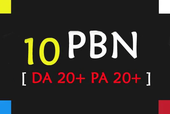 Create Manual 10 Pbn Posts On High Quality Tf Domains In Seo Backlinks