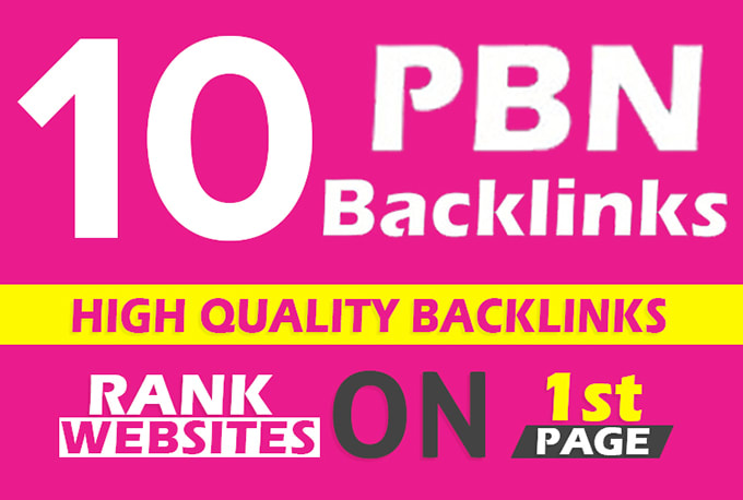Build 10 Manual DoFollow PBNs TF CF DA PA Backlinks