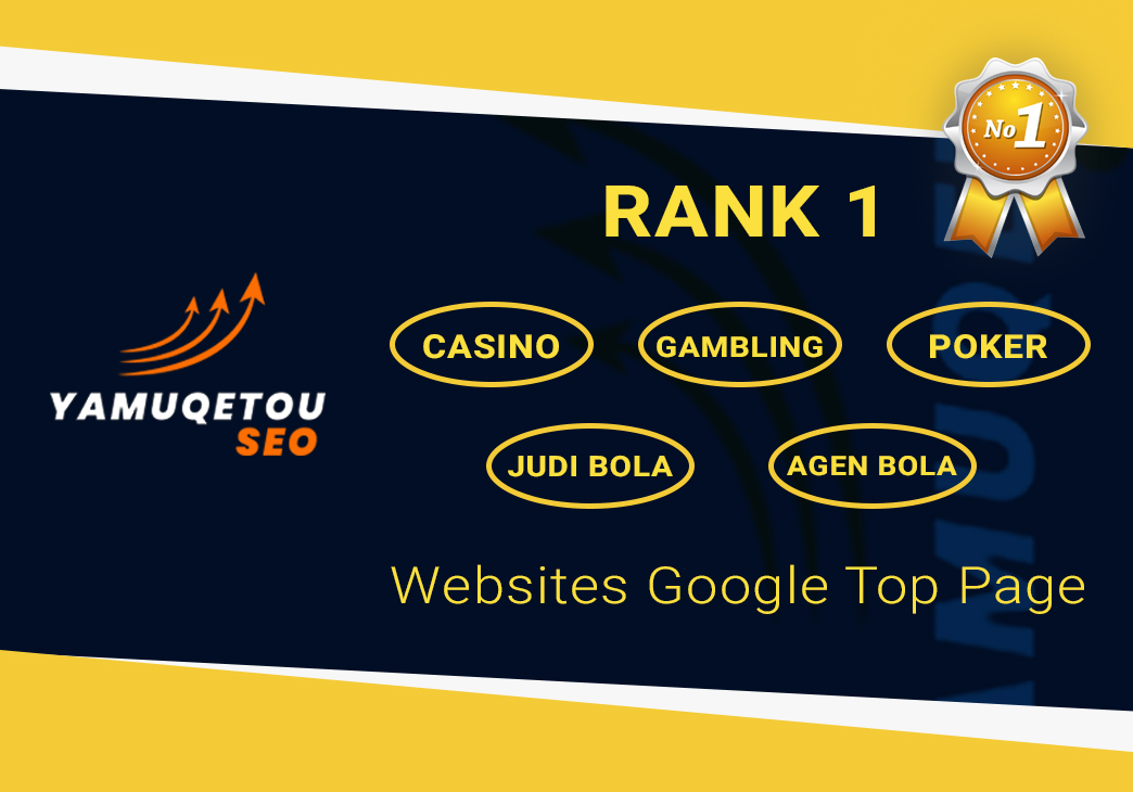 RANK 1 Casino, Gambling, Poker, Judi Bola, Agen Bola, Slot, Baccarat,  Websites