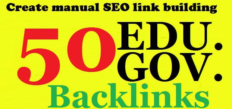 50 High DA Profile Backlinks 25 EDU-GOV With 25 USA Pr9 Backlinks