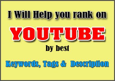 I will do keyword research and competitor analysis for your video