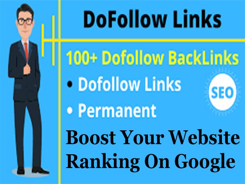Powerful 100 Dofollow High Quality SEO Backlinks