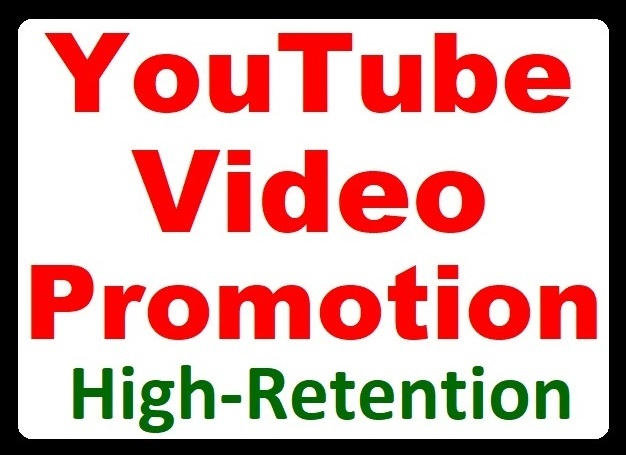 High Retention YouTube Video Promotion and Social Marketing Boost