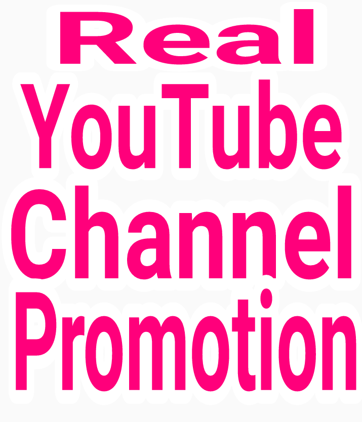 High Quality YouTube promotion via real human with fast delivery