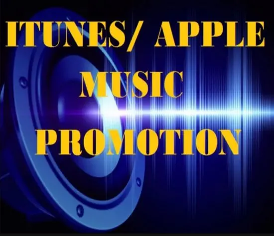Get Music 5000 Promotion On Your Song Track Apple Music iTunes