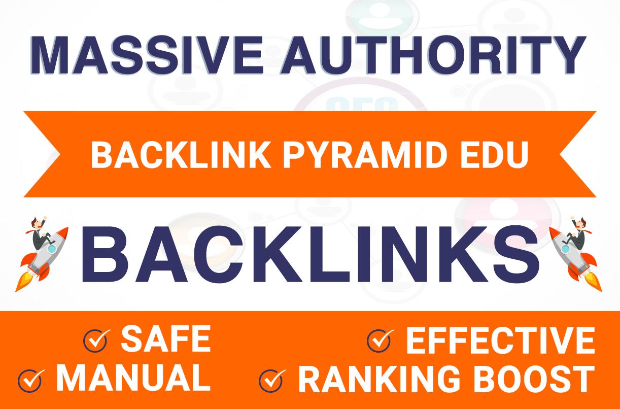 RANK ON GOOGLE BY MASSIVE AUTHORITY EDU BACKLINKS PYRAMID BEST RESULT