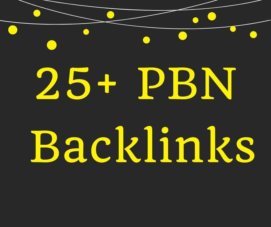Create 25+ Homepage PBN Backlinks for Skyrocket SEO Ranking on Google