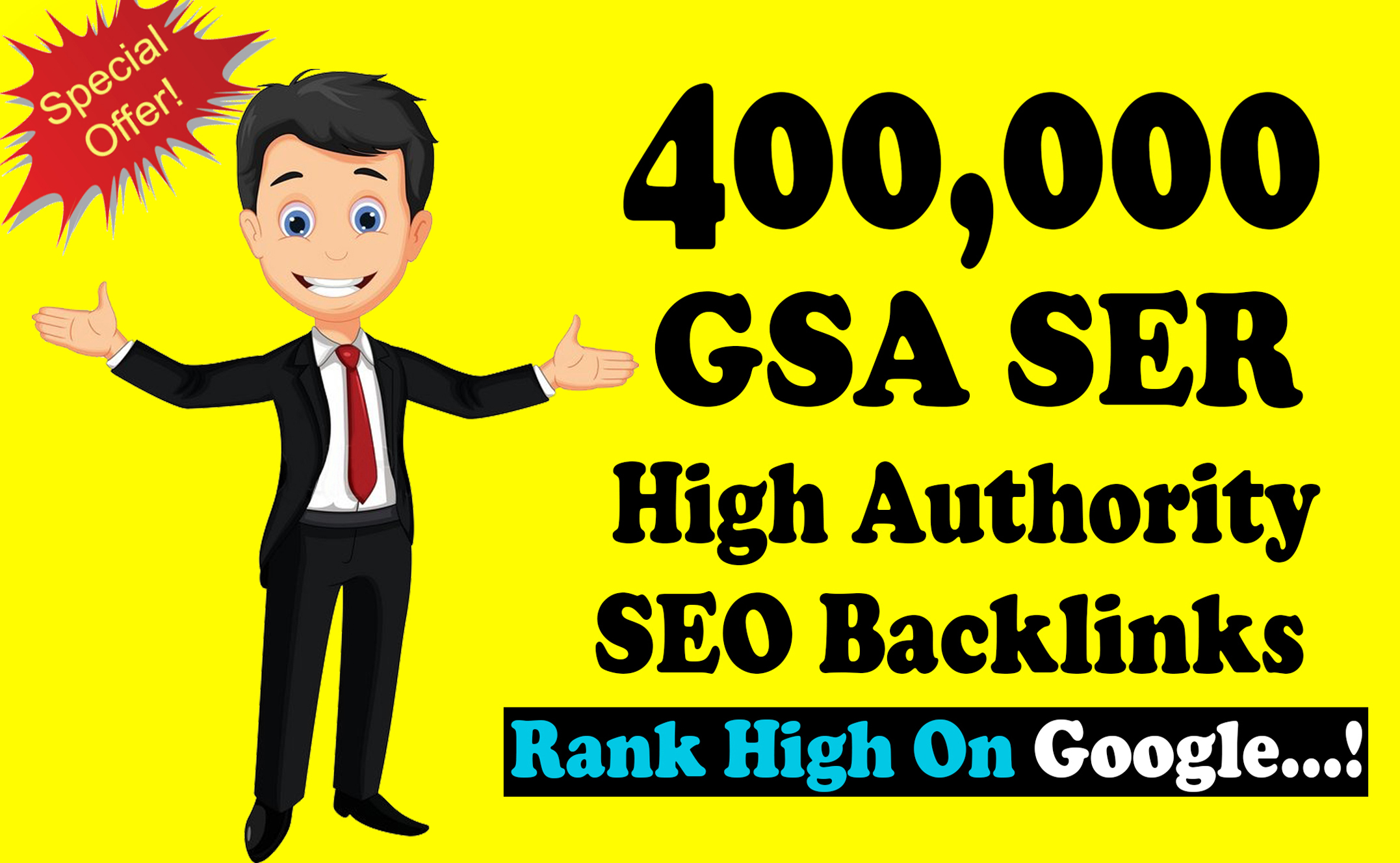 400k Over GSA SER Verified Dofollow SEO Backlinks for Any sites