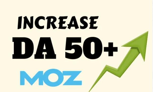I will increase moz domain authority increase moz da 50 plus