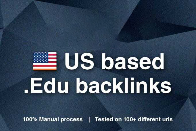 manually 450 edu backlinks for your website