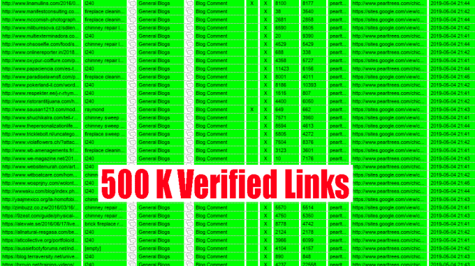 500000 Scrapebox Blast Live SEO blog Comment Backlinks