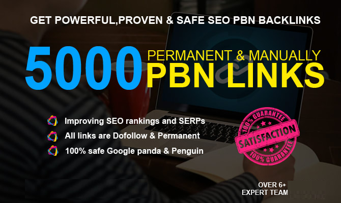 Create 4000 Dofollow Pbn SEO Backlinks For Google Ranking