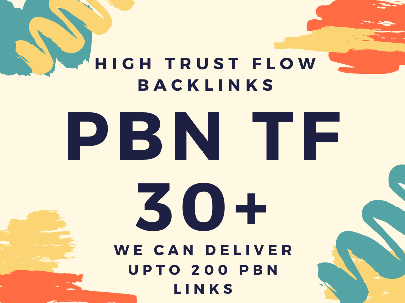 I will provide you homepage backlinks high tf 30+ high athority pbn