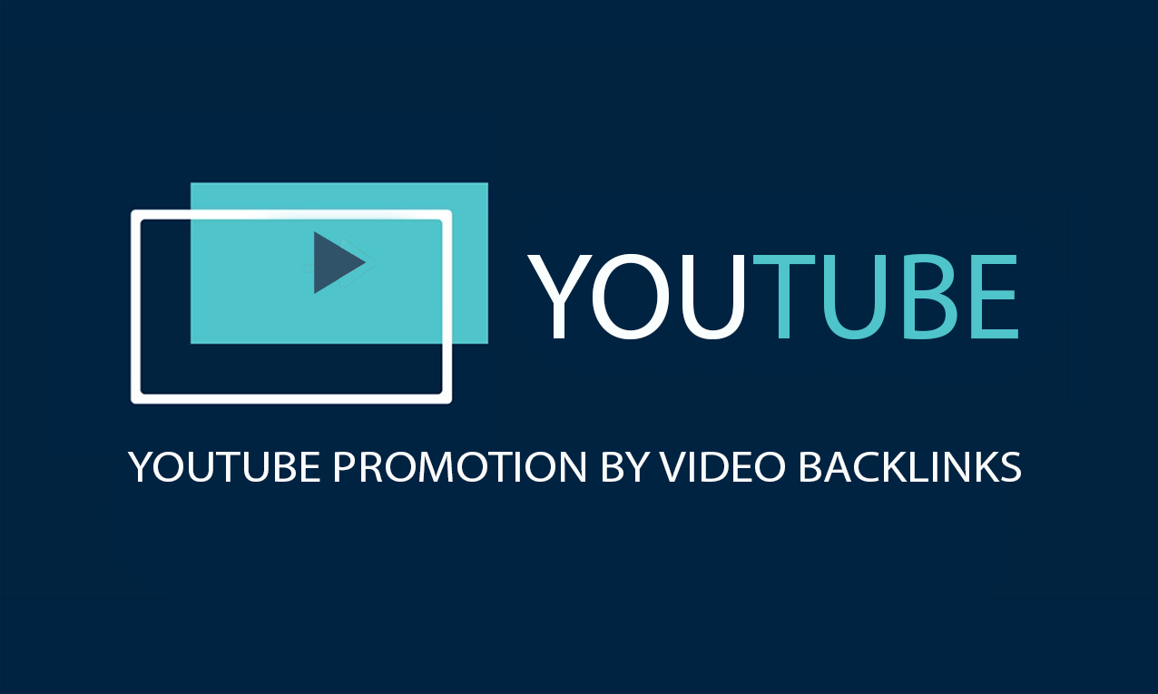Video SEO by Web 2.0 backlinks for YouTube promotion