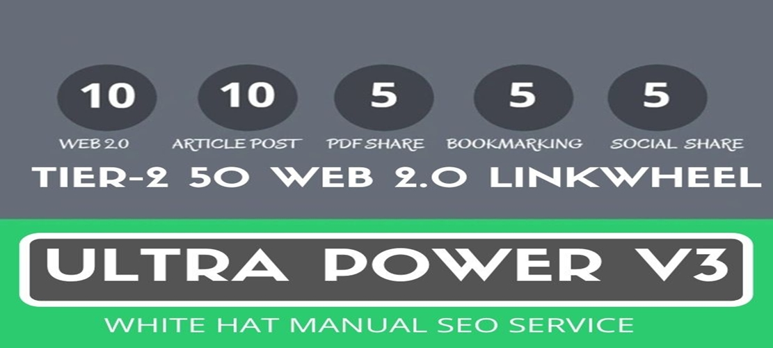 I will smash your competitors with Ultra Power V3 seo link building