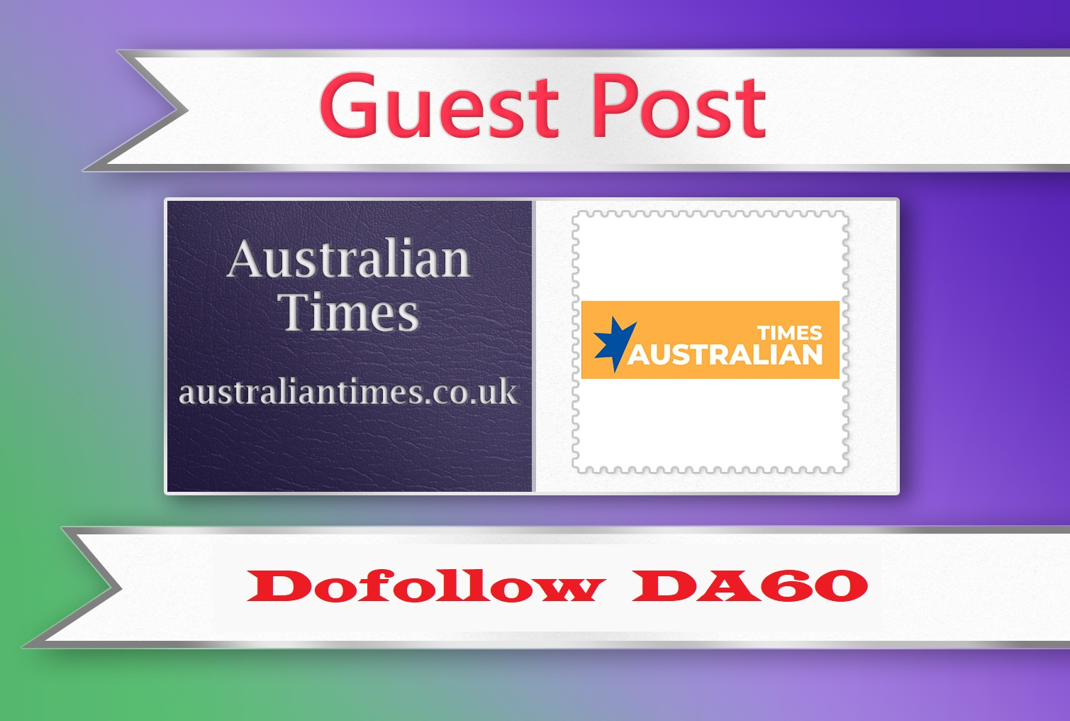 Guest post on Australian Times - australiantimes. co. uk - DA60