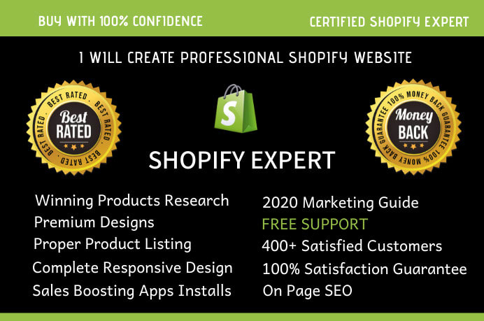 I will install and setup shopify theme with in 24 hours