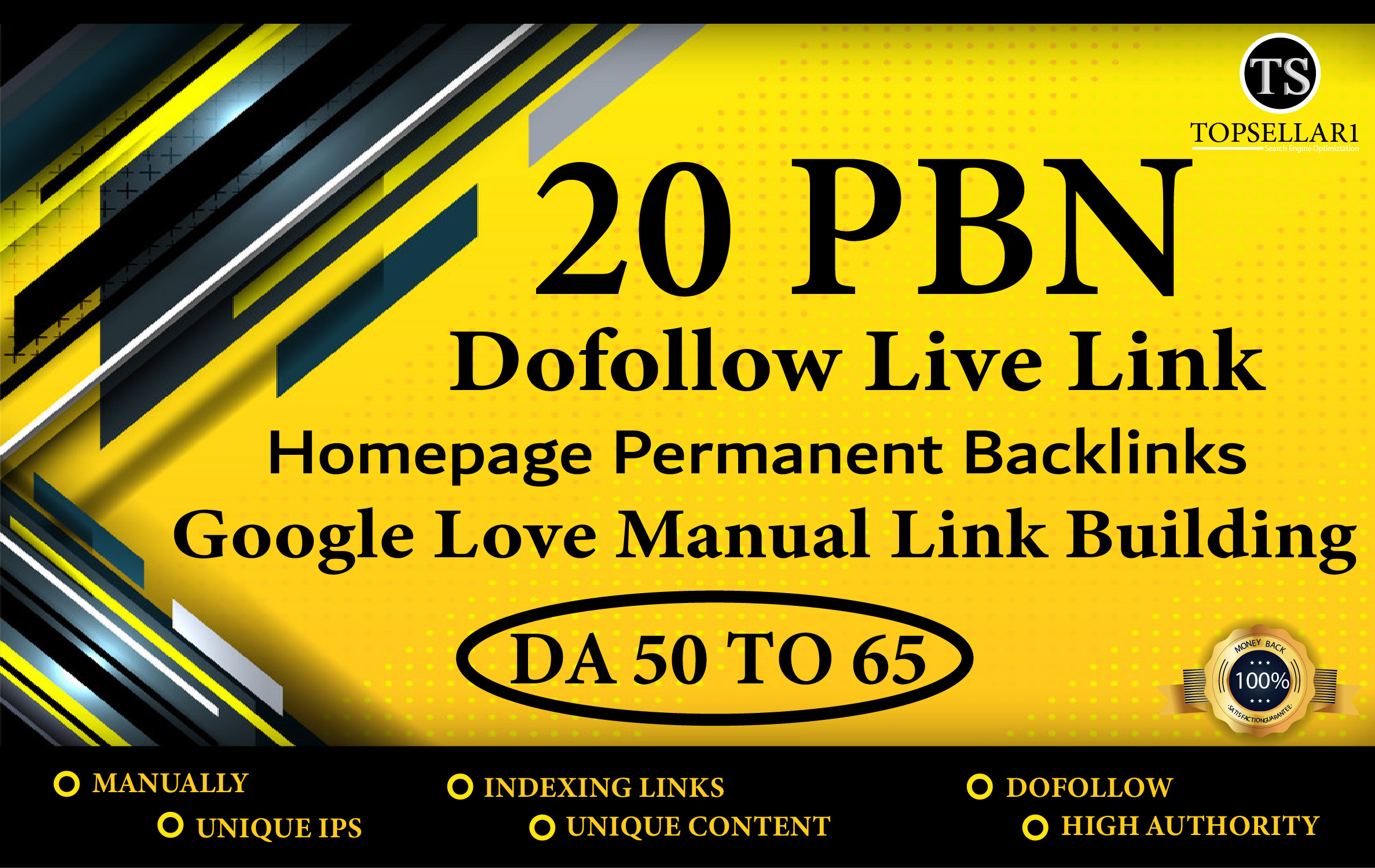 Build 20 powerfully PBN with High 60+ Da Manual Permanent Dofollow Backlinks