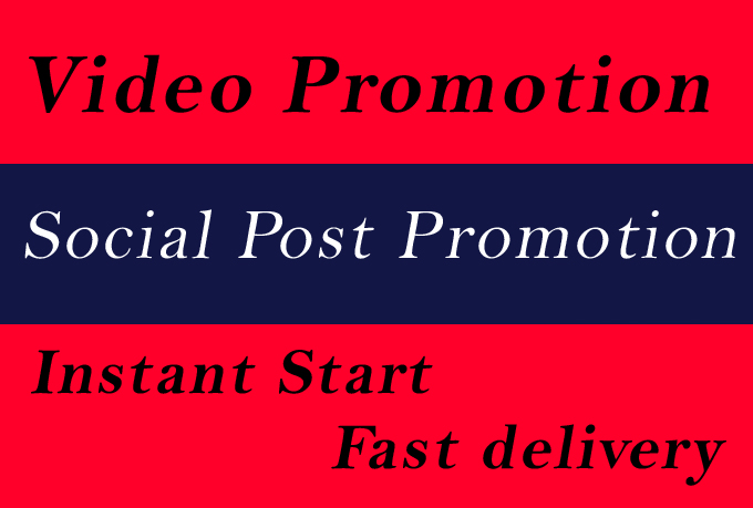 Best Quality Social Video and Post Promotion for Best Viral SMM SMO Ranking Markting