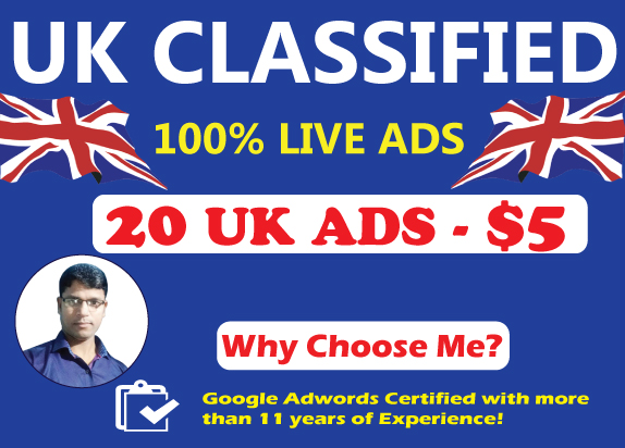 20 High Authority UK Classified Ads Posting to Drive Traffic and Sales