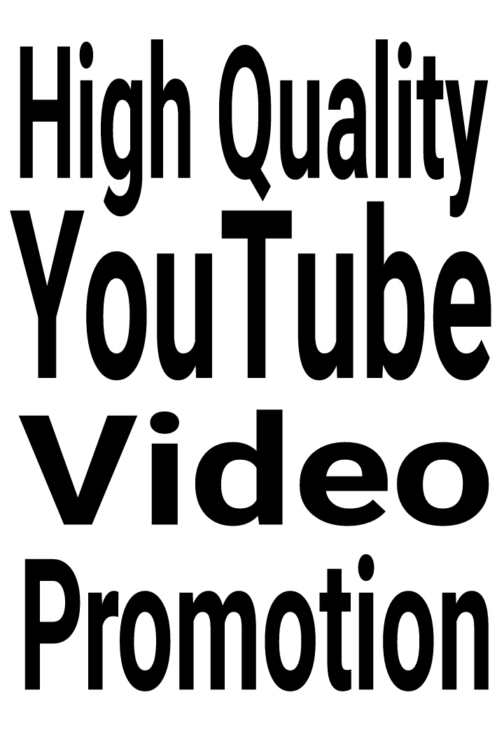 High Quality Real and Organic YouTube Video Promotion via real users and fast delivery