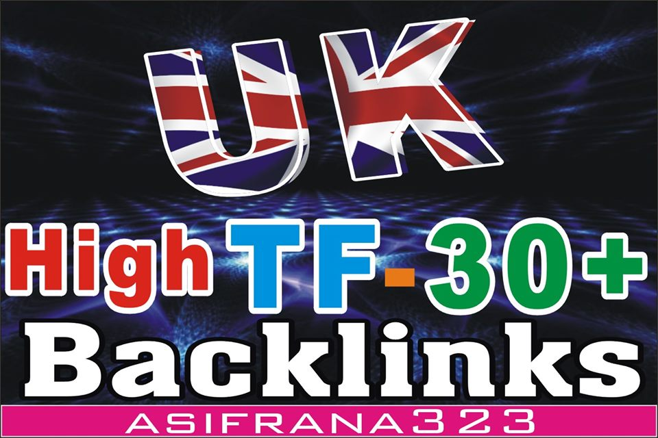 i will make 10 high Trust Flow SEO PBN Backlinks on UK Sites