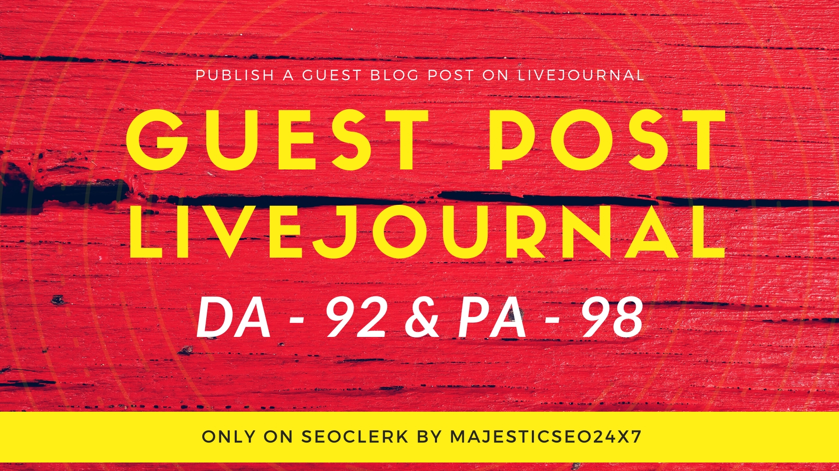 Publish Guest Post On Livejournal. com DA 92 and It's permanent backlinks