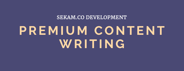 Premium Content Writing - A Grade Writers - Fast TAT