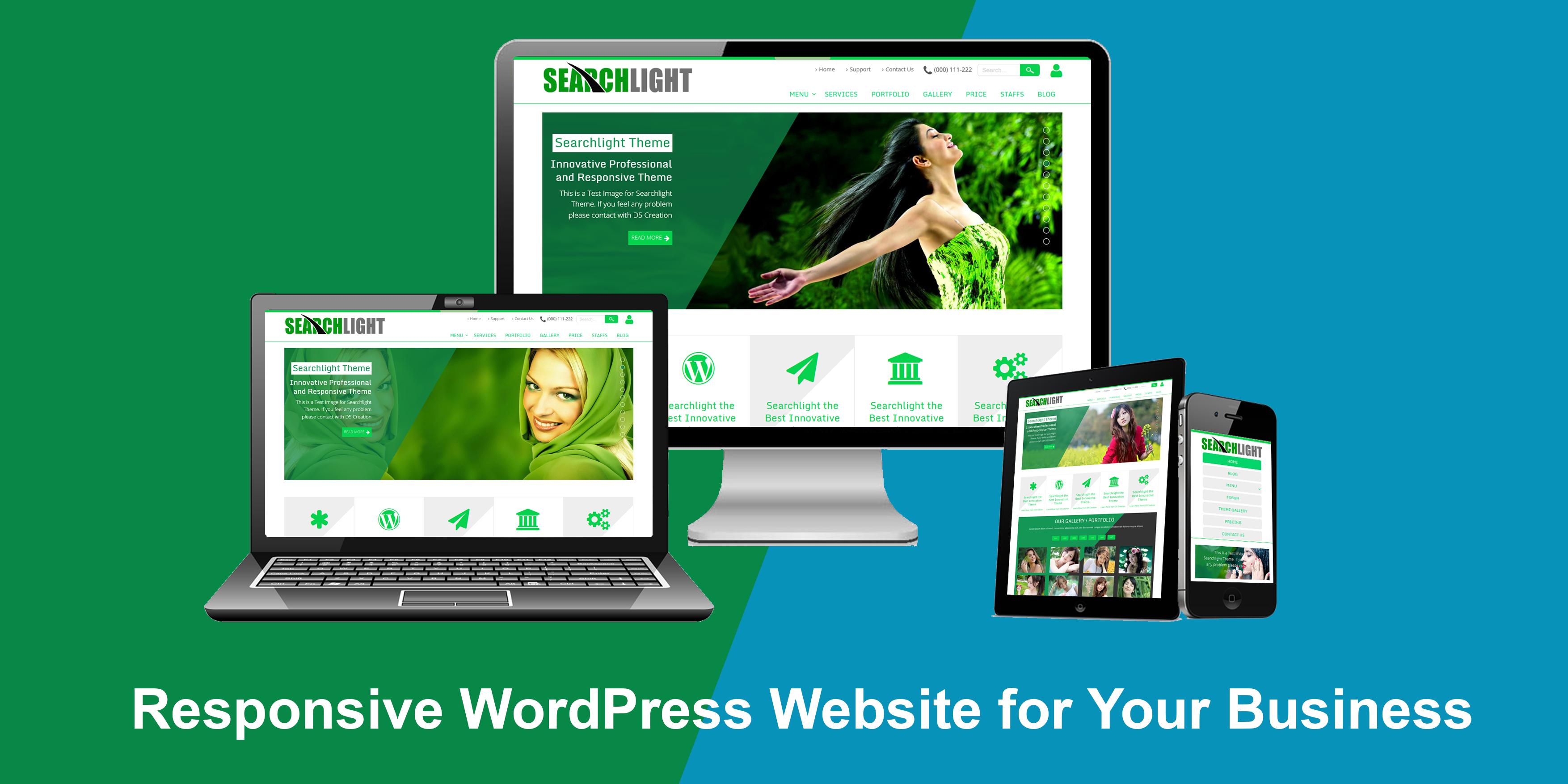 I will Do wordpress theme Customize or Redesign Wordpress website