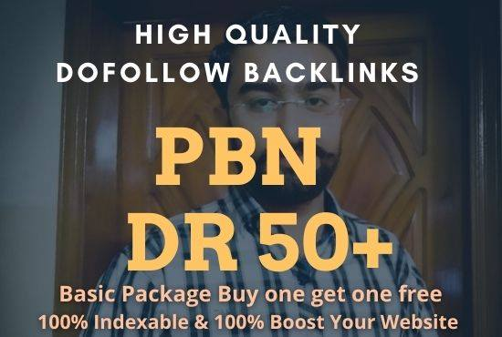 Build 5 PBNs On High DR50+ H-page Permanent Link High Quality Free Spam
