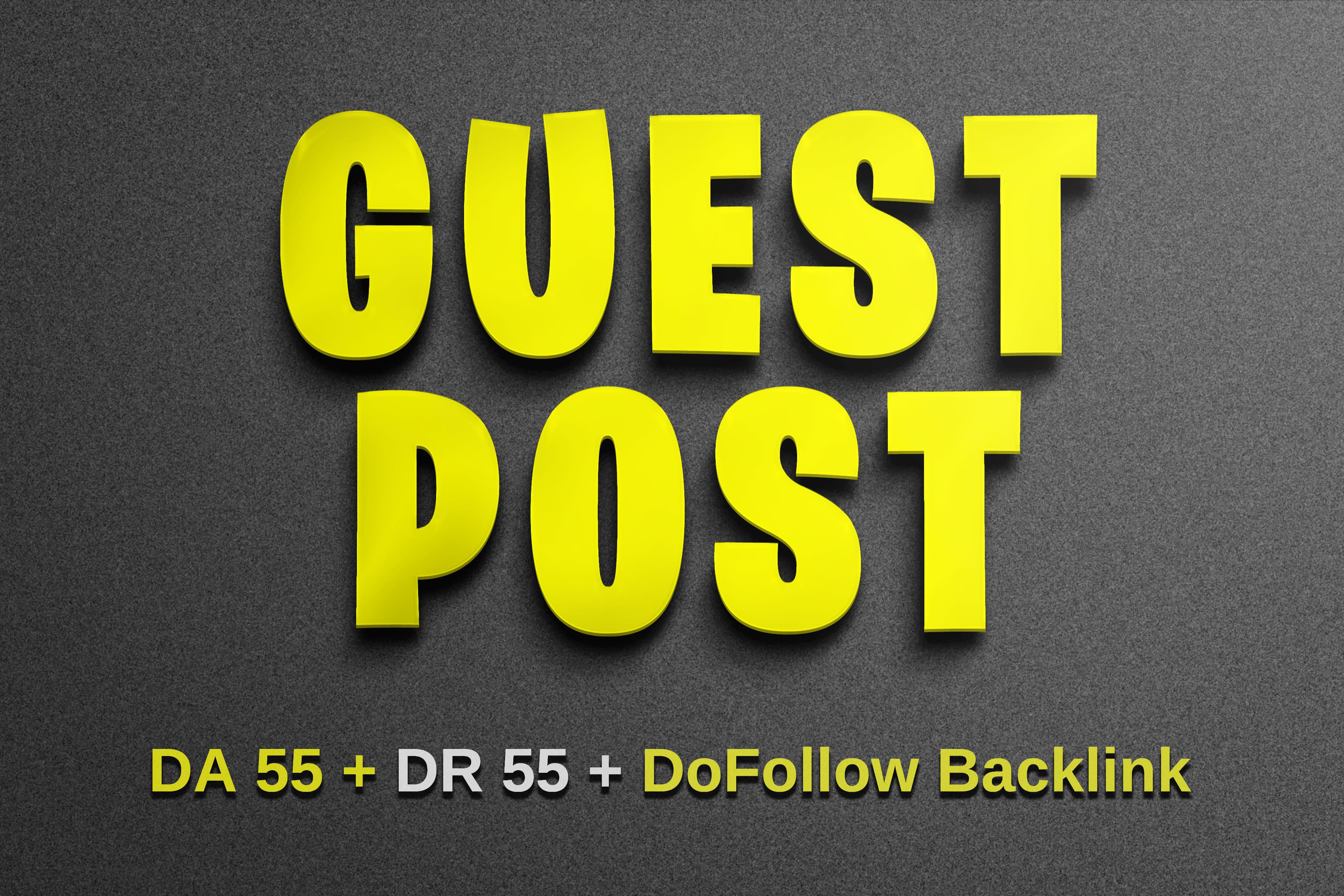 do SEO backlinks via blogger outreach,  dofollow link building service