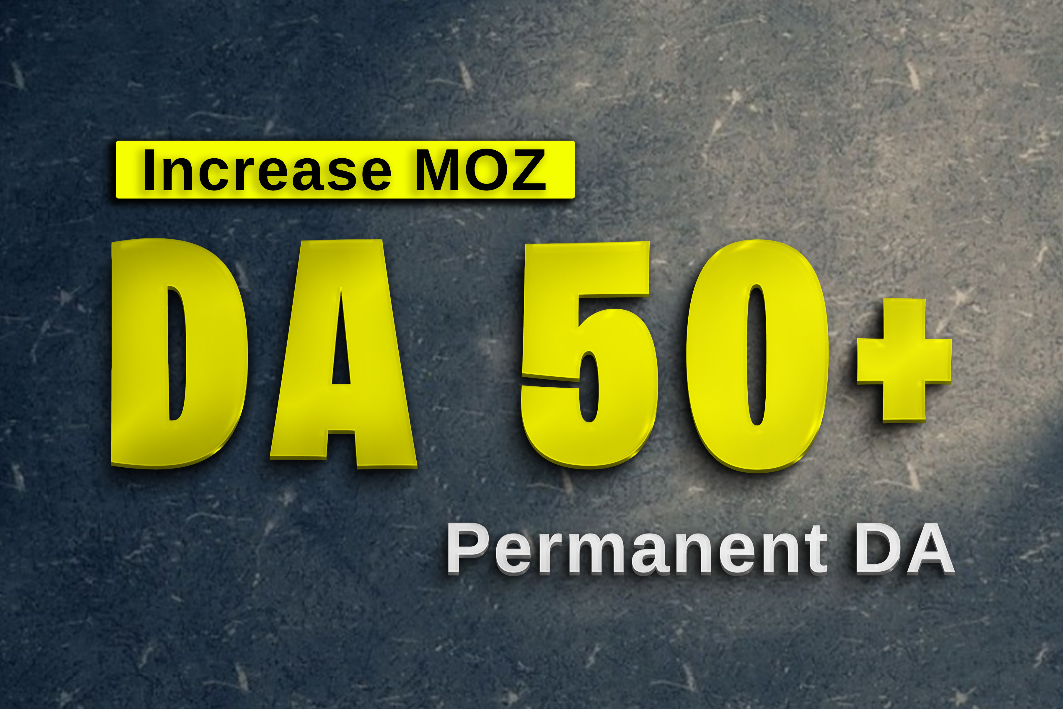 Limited Offer Increase Permanent MOZ DA0 to DA50+ of your website MOZ Domain Authority
